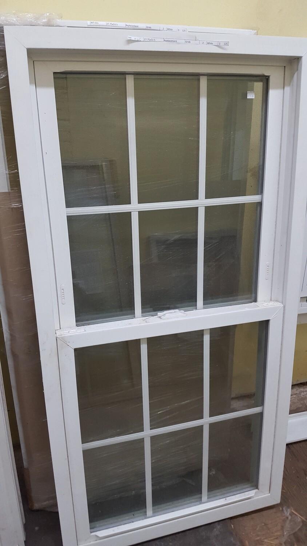 Harvey Window, 27.75x53.5 (WP-026) white
