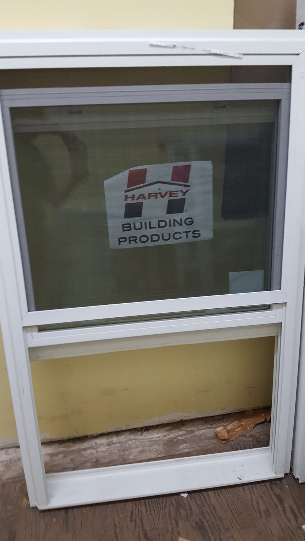 Harvey Window, 33.625 x 52.25 (WP-023) white