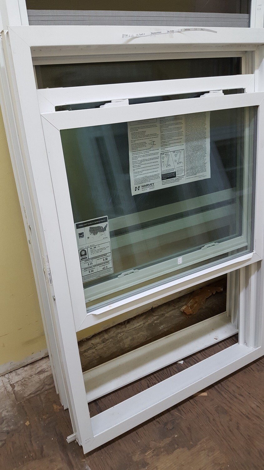 Harvey Window, 31.75 x 45.5 (WP-010) white