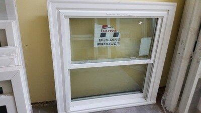 Harvey Window, 37.25 x 38.25 (WP-012) white, new construction