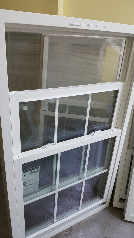 Harvey Window, 32.25 x 53.5 (WP-013) white