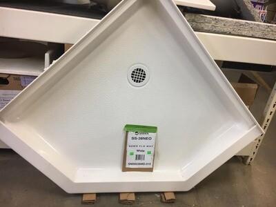 Neo-Angle Shower Base