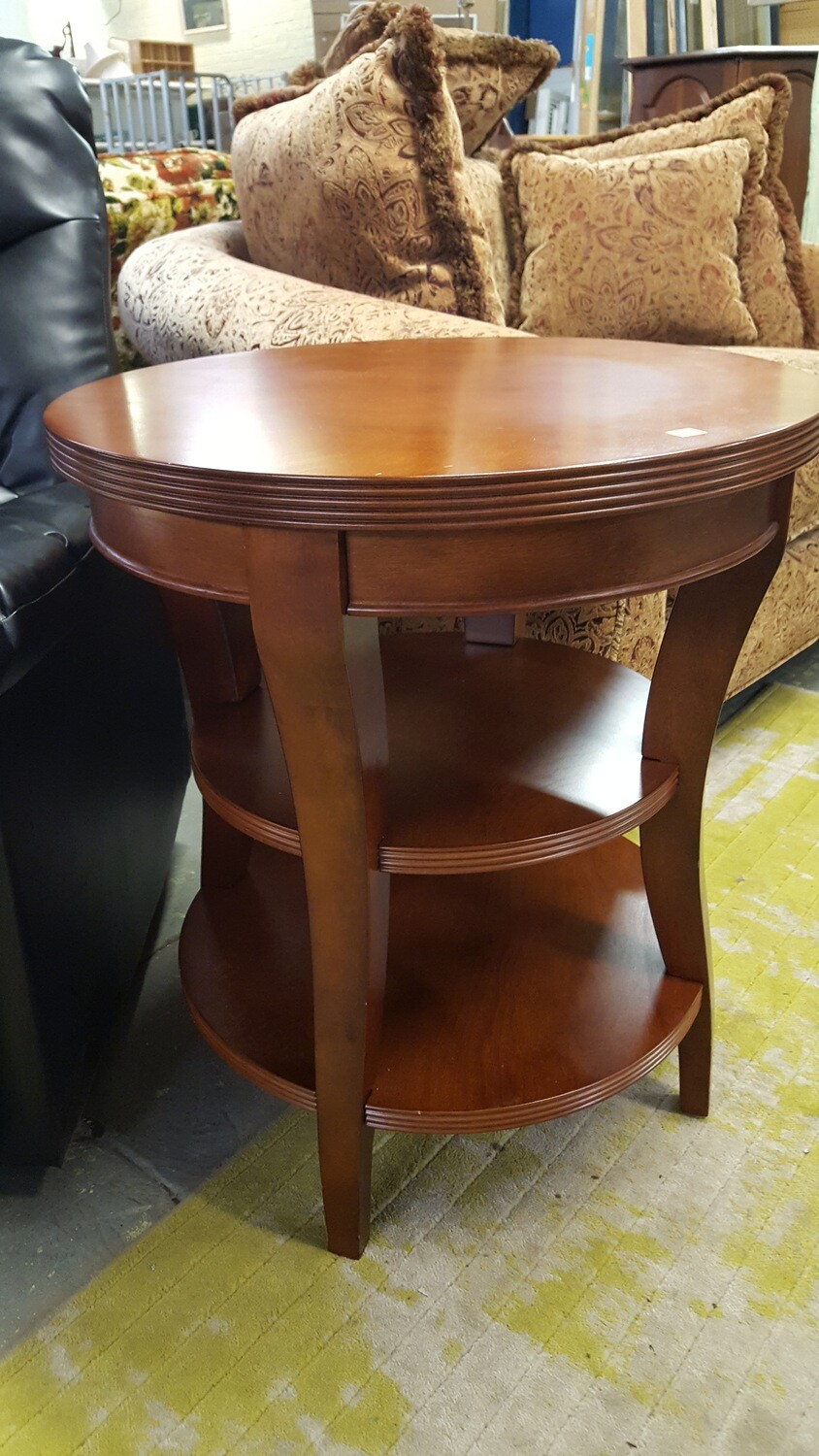 Round End Tables 3 tier
