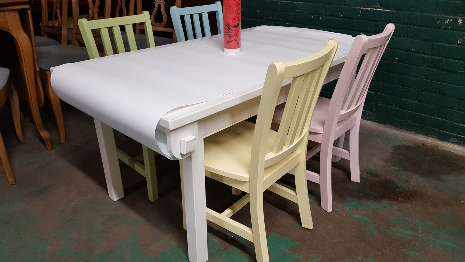 Craft Play Table and Chairs