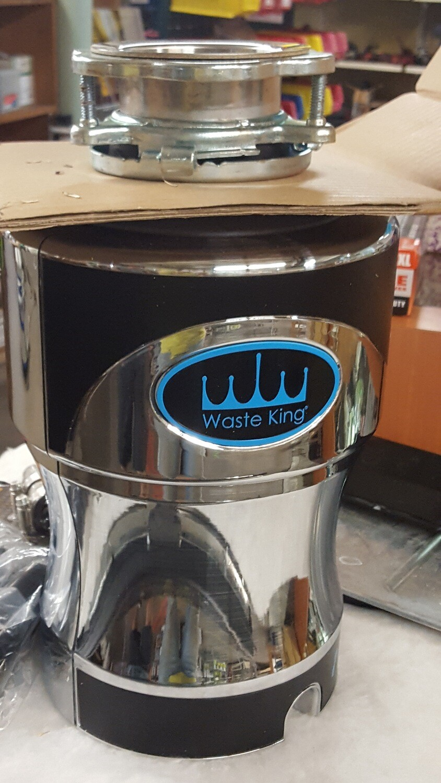 Disposal, Waste King, new, 1HP