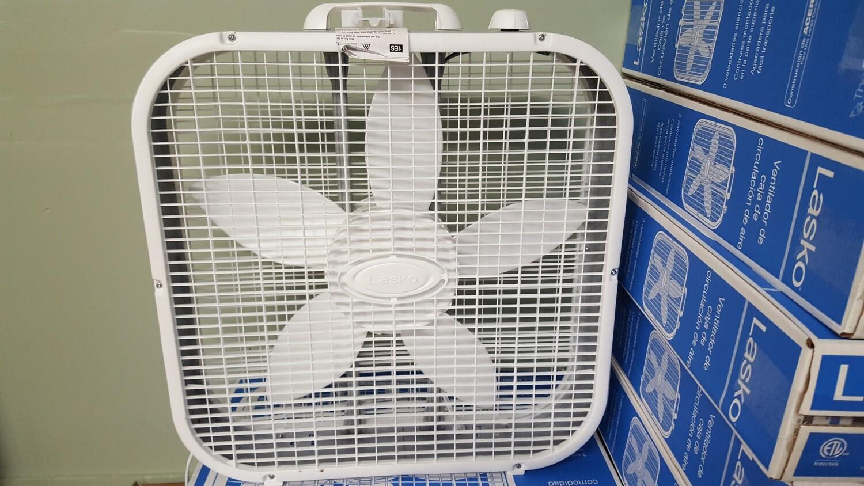 """Lasko Box Fan 20"""""""