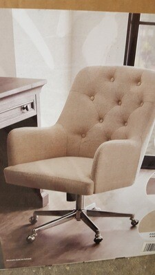 Tufted Office Chair, new