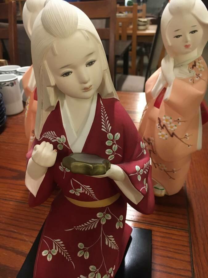 Japanese Toyo Porcelain Figurines