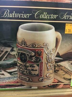Budweiser Antique Label Stein