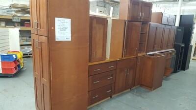 Cherry Kitchen Cabinet set, 14 piece