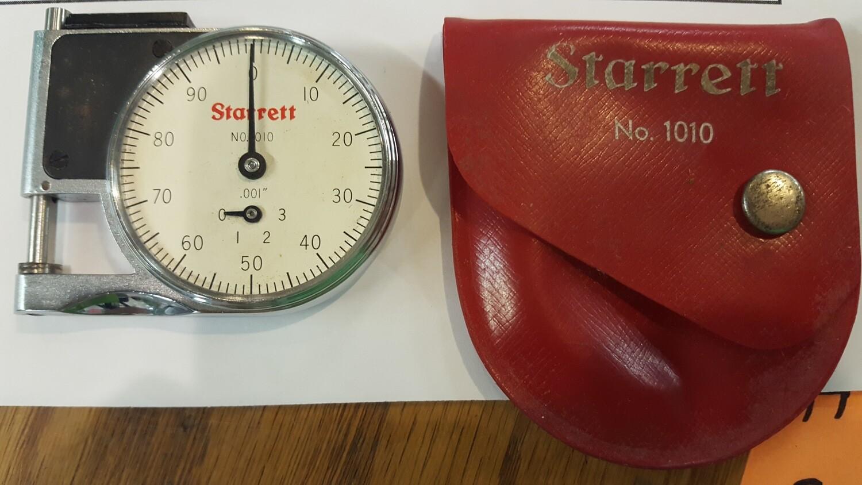 Starrett Dial Pocket Indicator