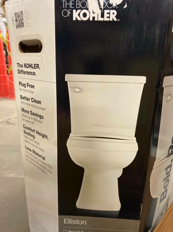 Kohler Toilet, new 1.28 GPF