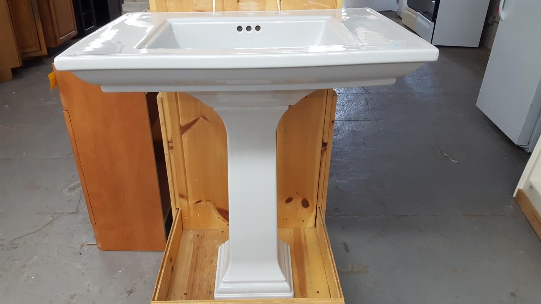 Kohler Pedestal Sink, grey