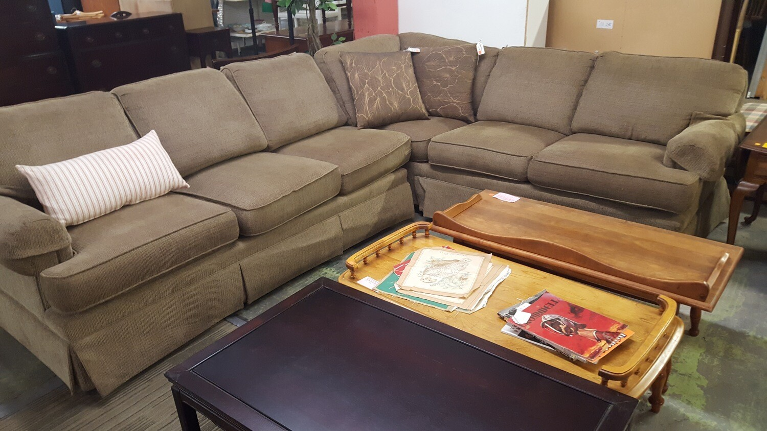 Sectional Sofa, Temple