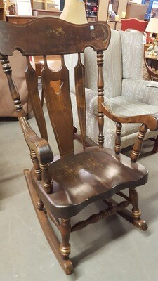 Dark Pine Rocking Chair  (BL)