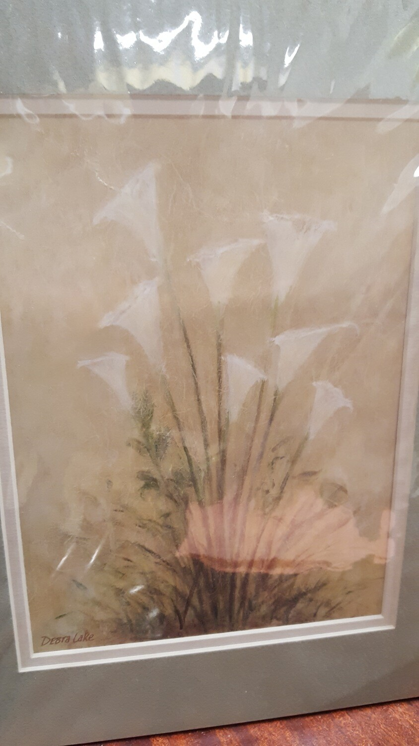 Matted Print - Lilies   (R)