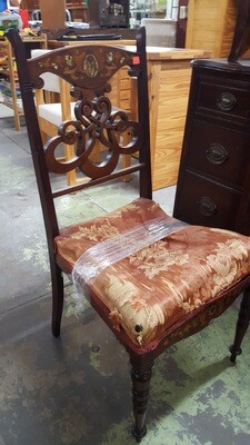 Antique Chair, needs new seat (CL)