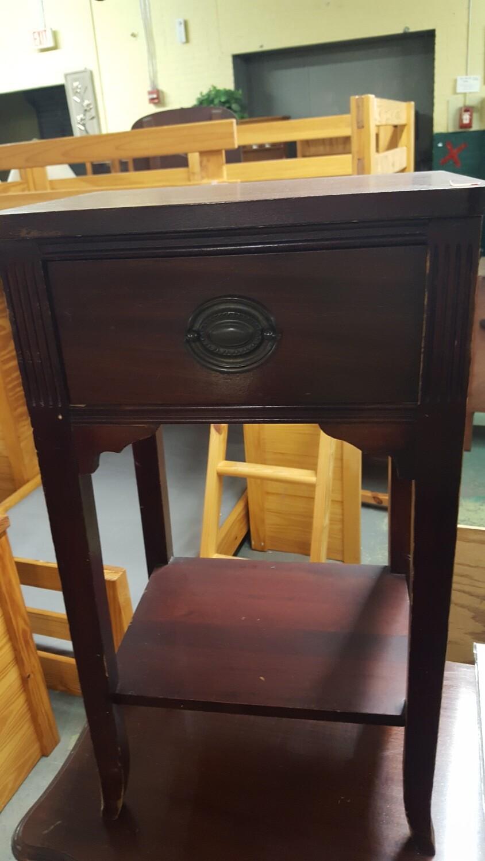 Mahogany Side Table  (R)