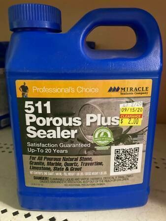511 Porous Plus Sealer, quart