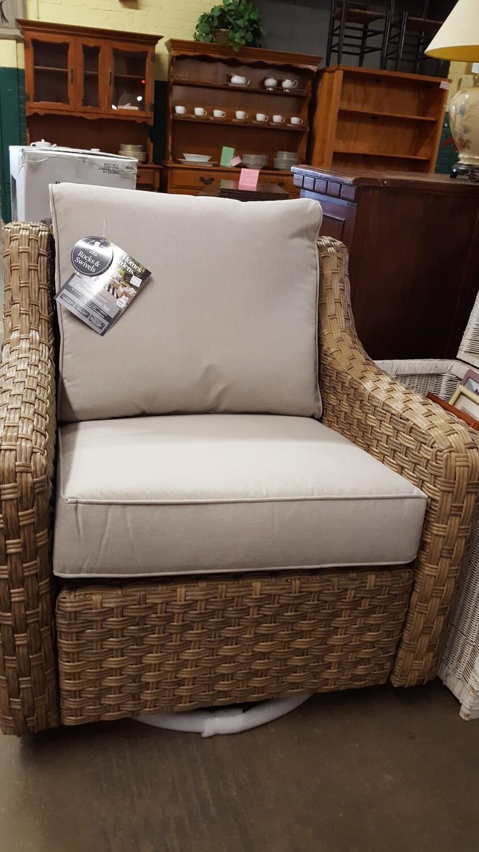 BH&G Patio Swivel Chairs, pair, new