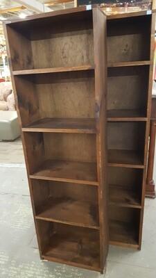 Narrow Pine Bookcase