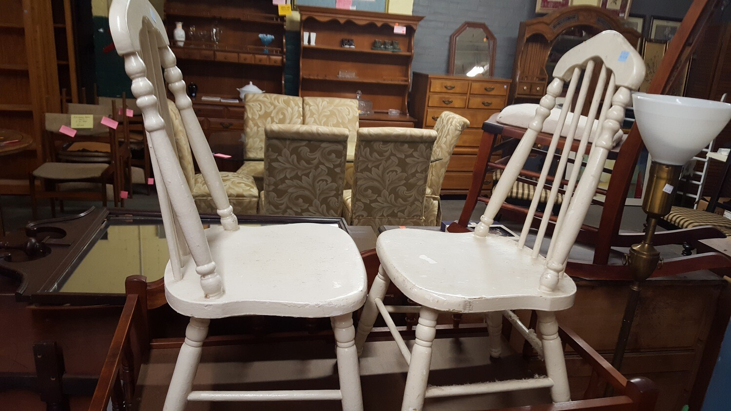 White Youth Chair (BL)
