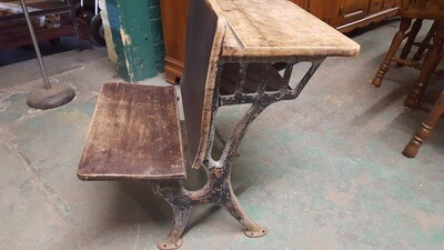 Antique Classroom Desk  (BL)