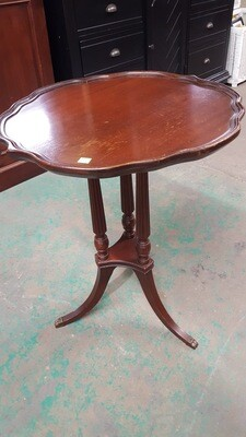 Pie Crust Mahogany Table (GR)