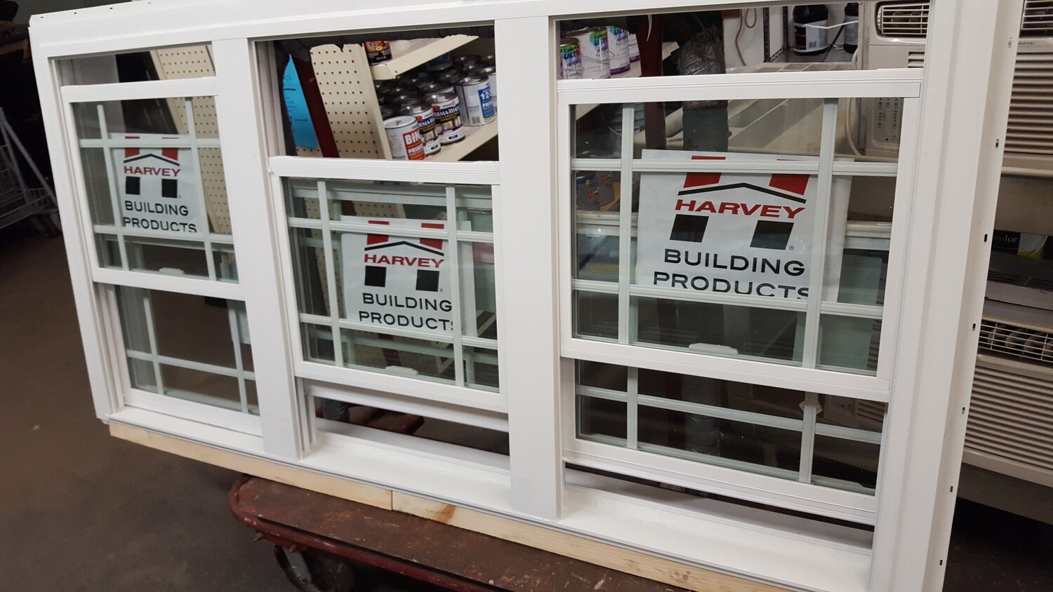 Harvey triple DH window W0989 (GR)