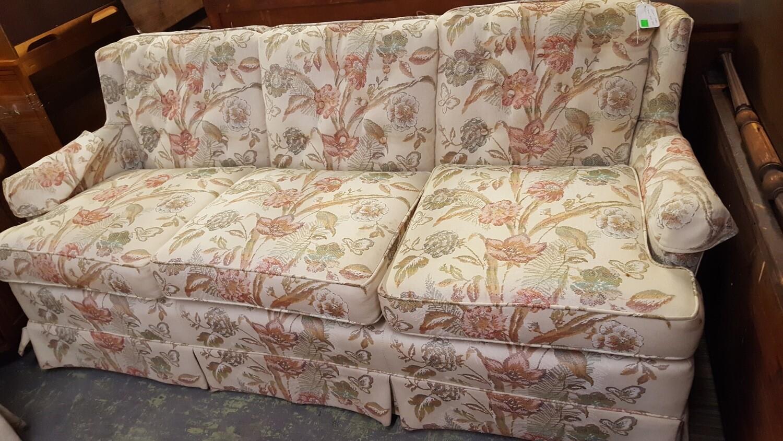 """Floral Sofa, 72"""" (GR)"""
