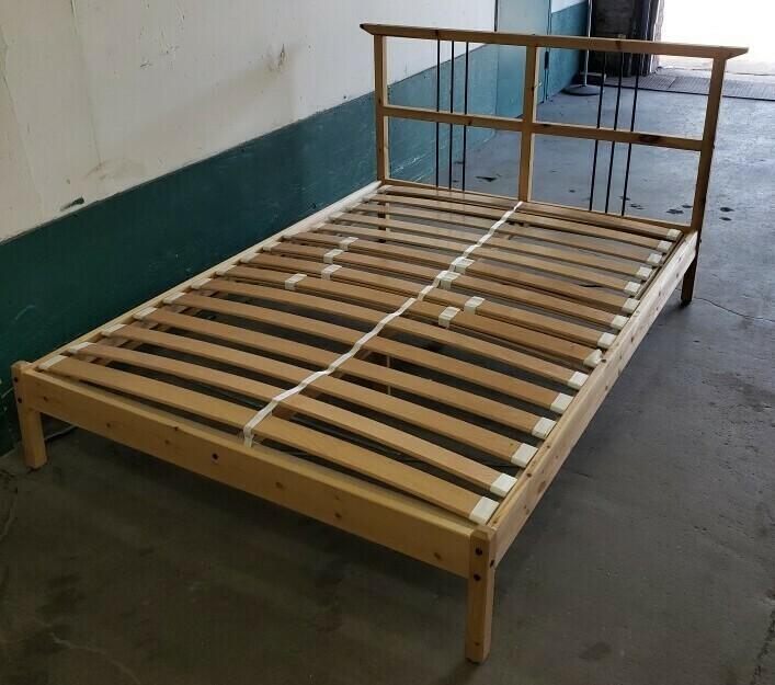 Ikea Bed Frame, Full  (GR)
