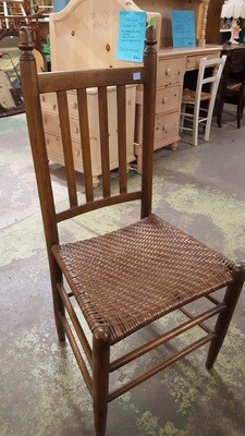 Oak Chair with caned seat (BL)