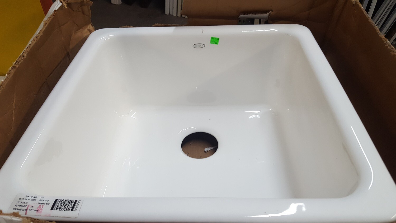 Kohler Kitchen Enamel Sink, 21-inch new (GR)