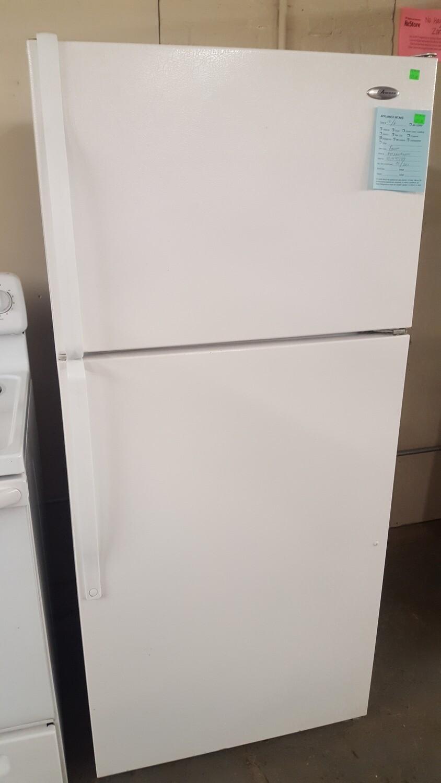 Amana Refrigerator, top freezer