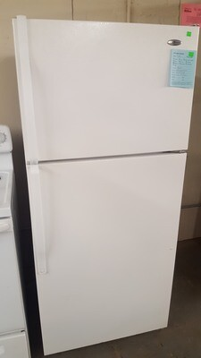 Amana Refrigerator, top freezer