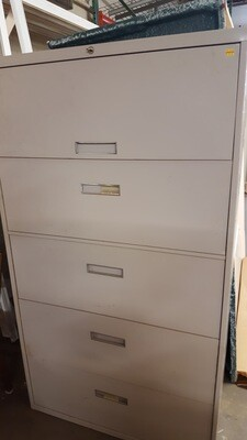 Lateral File Cabinet, 4-drawer (CL)