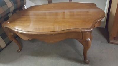 Coffee Table, serpentine edge (CL)