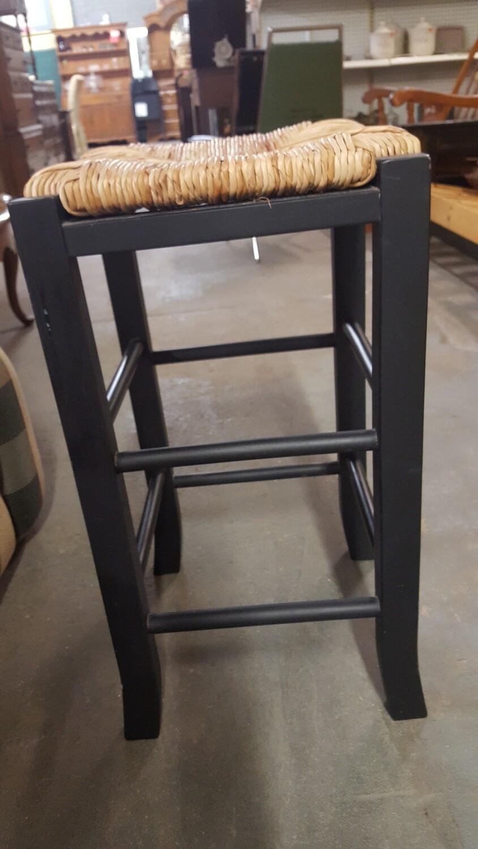 Stool, woven rush seat (GR)