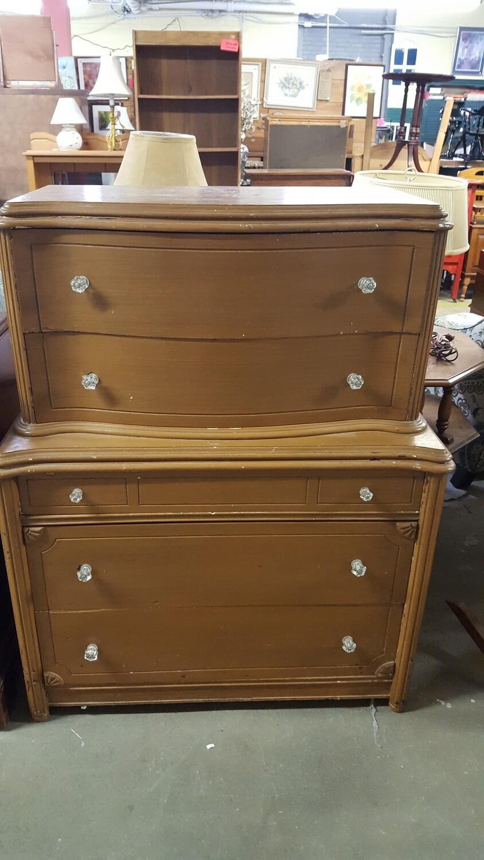 5-drawer Vintage Dresser (GR)