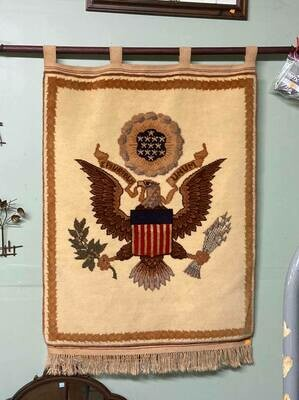 Eagle Rug Wall Hanging