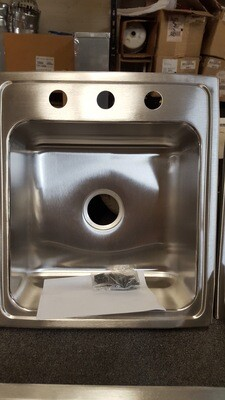 Elkay Stainless Sink 19.5x22 NEW