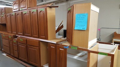 Kitchen Cabinets 12-pc cherry (OR)