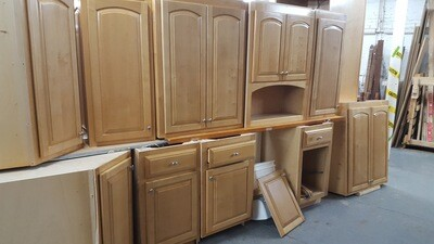 12 piece Cabinet set with oven cabinet (OR)