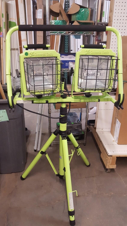 Work Light, adjustable height
