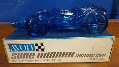 Avon Decanter Racing Car