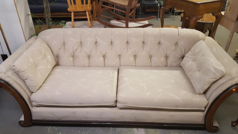 Sofa 89-inch, ivory (or)