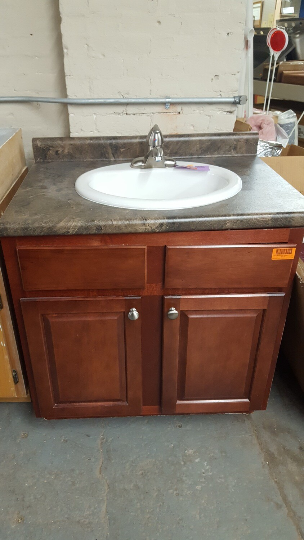 """Used Bathroom Vanity, 30""""  (or)"""