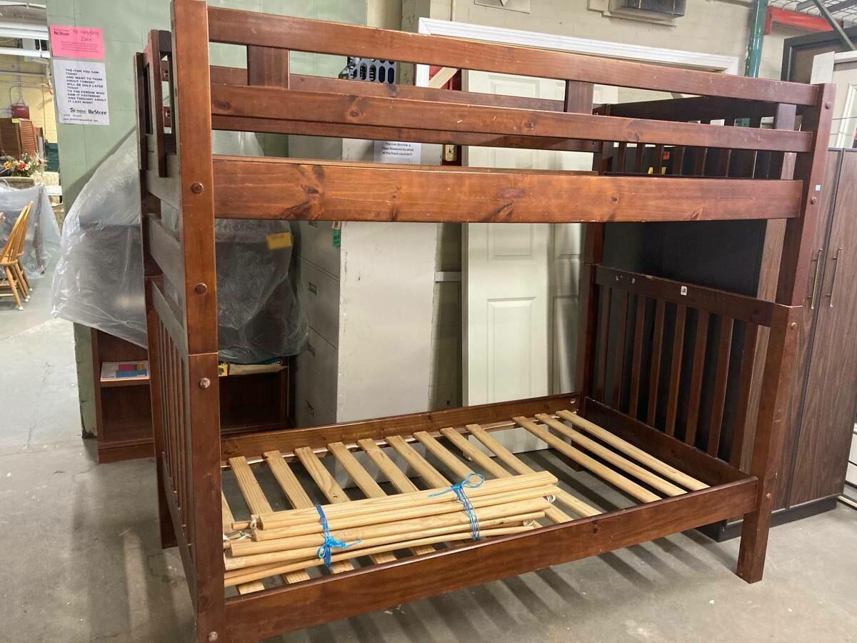 Bunk Beds, cosmetic TLC needed (B)