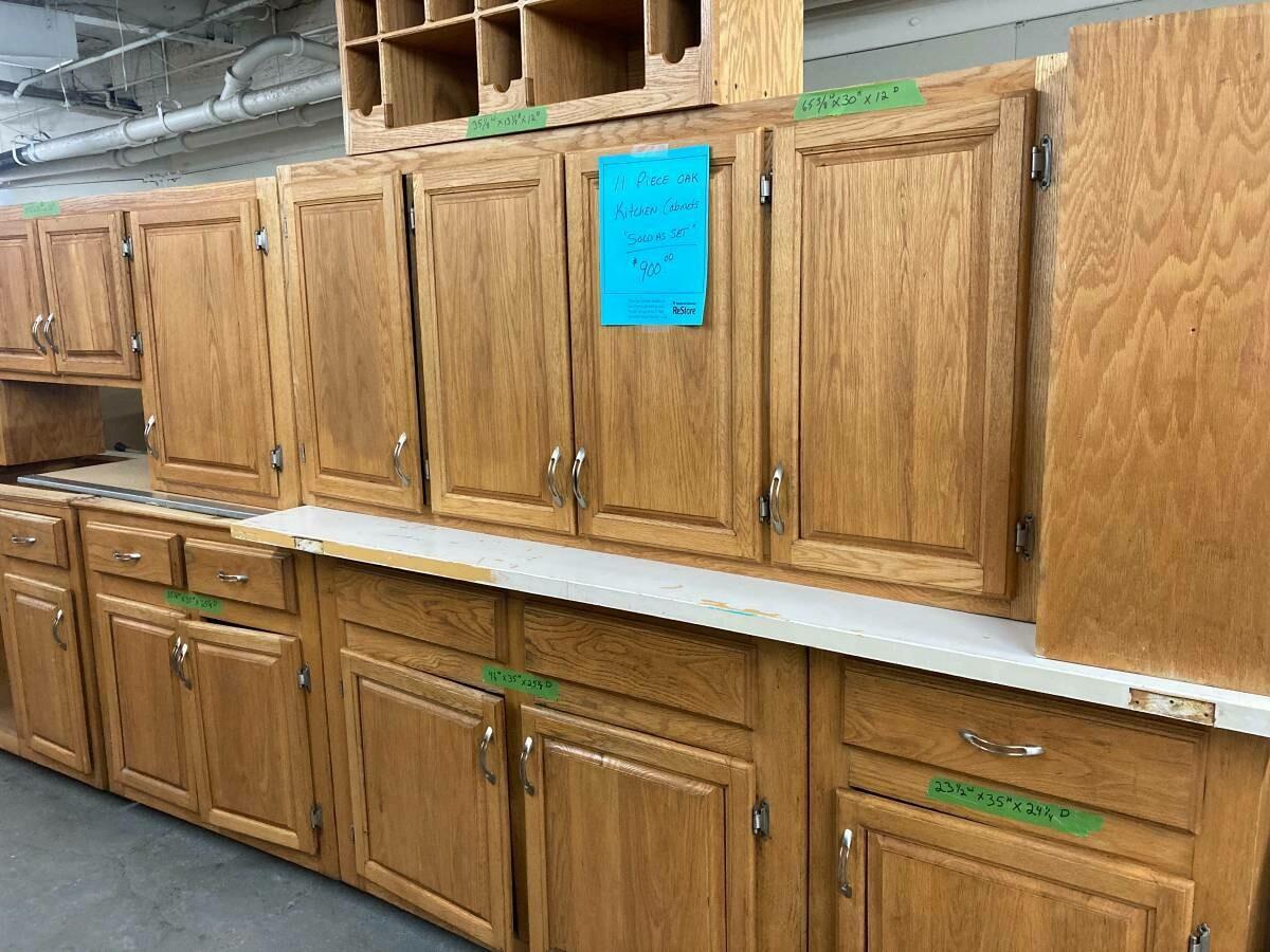 Kitchen Cabinet Set (B)