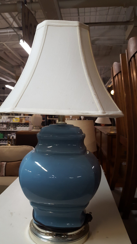 Blue Table Lamp (b)